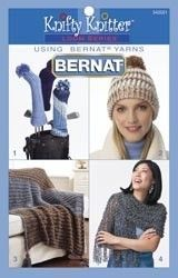 Bernat KNIFTY KNITTER PATTERN Book For Round and Long Looms