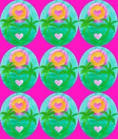 Cathrin Gressieker | Make It In Design | Surface Pattern Design | Summer School | Tropical Paradise