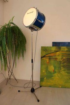 Upcycling Lampen und Leuchten selber machen. Recycling aus Veloteilen, Autoteilen und Küchenutensilien. Ideensammlung Lampenbau