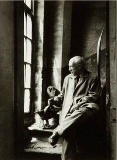 Pablo Picasso. @ Denise Colomb, 1952, rue des Grands-Augustins, Paris.