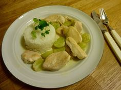 Edel's Mat & Vin : Kyllinggryte med druer !