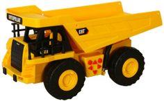 Caterpillar Construction Job Site Machines: Dump Truck: