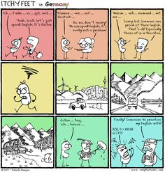 Itchy Feet: A Travel and Language Comic: Second Mother Tongue