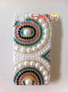 Pearl iPhone cases White iPhone 4S Case Custom phone case iPhone 5 Case iphone 3G/3GS case cute and unique iphone 4 case Galaxy note 2 Case. $25.00, via Etsy.
