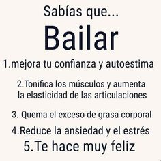 Wellness Tips & Ideas Dance Quotes, Zumba Quotes, Spanish Quotes, Just Dance, Love Messages, Wellness Tips, Book Lovers, Sentences, Life Lessons