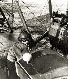 Gotha G.V pilot