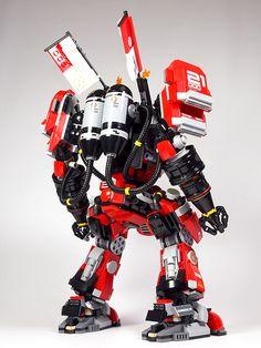 "LEGO NINJAGO ""Fire Mech"" (Remodeling)"