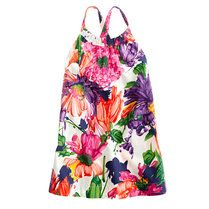 Beautiful floral little girls sun dress  Picture not the property of Treasure Box Kids