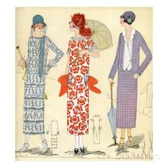 The Menopausal Supermodel: Visiting the Jazz Age in Fashion
