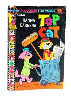 Top Cat Comic No. 13 - Hanna-Barbera Vintage Top Cat Comic Book - 1960s Comic