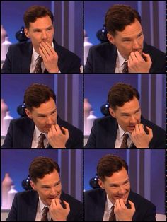 Benedict Cumberbatch. This poor man cannot go anywhere or do anything without having a mission pictures taken of him. But just look at him! He's quite adorable.