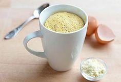 Recept voor Mug Cake met Citroen, Maanzaad en Amandel | Solo Open Kitchen
