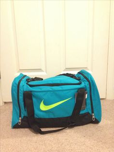 5c598e41262a Nike duffle bag  nike  nikedufflebag  neonnike