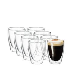 Hot or cold, the Avanti Cafe Twin Wall Glass 250ml Set of 8 is perfect for all beverages. Borosilicate glass. Buy now and enjoy the best deals!