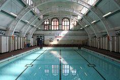 Moseley Road Baths-Restoration Project Birmingham-Grade II Listed Buildings UK-Endangered Buildings in Britain Birmingham England, Learn To Swim, Listed Building, British Isles, Beautiful Islands, Swimming Pools, Britain, Restoration, Places To Visit