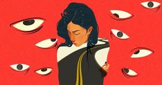 Women in Hindi media suffer a toxic culture of harassment – but is 'unthinkable' for them Illustration: Manisha Yadav Woman Illustration, Graphic Design Illustration, Graphic Art, Feminism Poster, A Level Art Sketchbook, Social Media Poster, Feminist Art, People Art, Vector Art