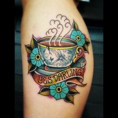 by Gary Gearhardt at Olde Line Tattoo in Hagerstown, Maryland USA. It took a total of 3.5 hours to complete.