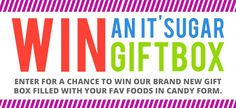 One winner will receive one Foodie Candy Gift Box.
