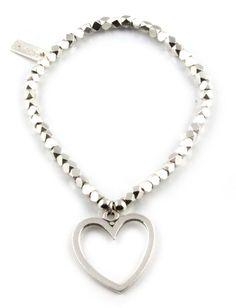 ChloBo Kaz bracelet with open heart ChloBo online store £140
