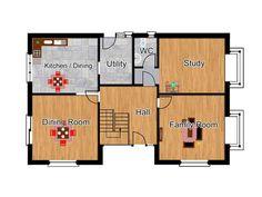 2 Bedroom Dormer Bungalow Plans - The Westgates