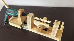 4 in 1 Drill Press Build Pt2: Disc Sander & Lathe / 4 in 1 Sütun Matkap...