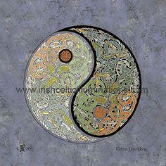 Celtic Shields & Mandalas : Celtic Yin Yang by Jeff Fitzpatrick Adams Irish Celtic, Celtic Art, Celtic Shield, Yin Yang, Craft Gifts, Inspiration, Mandalas, Kid Craft Gifts, Biblical Inspiration