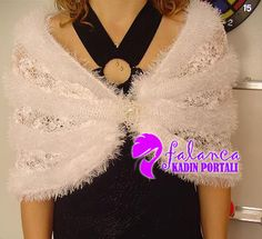 Sakallı İpten Şal Crochet Projects, Crochet Necklace, Knitting, Couples, Fashion, Long Scarf, Knitting And Crocheting, Ideas, Cowl