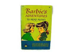 Vintage Barbie Book  1960s Barbie Book Retro Barbie Book