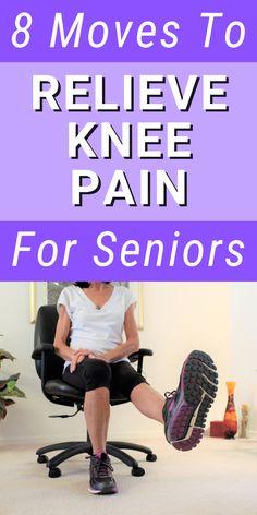 Arthritis Exercises, Knee Arthritis, Knee Strengthening Exercises, How To Strengthen Knees, Knee Pain Relief, Nba, Fitness Workout For Women, Senior Fitness, Workout Videos