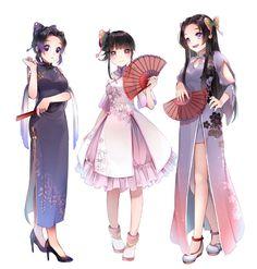 ✔ Anime Angel And Demon Couple Anime Angel, Anime Demon, Manga Anime, Anime Art, Demon Slayer, Slayer Anime, Girls Anime, Kawaii Anime Girl, Angels And Demons