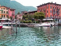 Lake Iseo, Italy (my fave restaurant in the world on the left): http://www.europealacarte.co.uk/italy/iseo