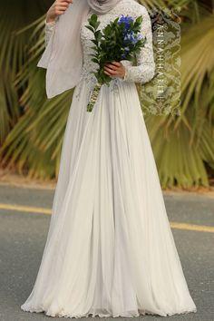 Delphinium Gown by ANNAH HARIRI – هنا حريري