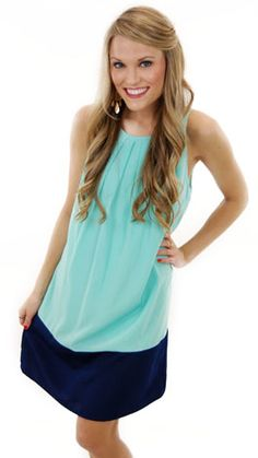 Hayli Dress, Mint
