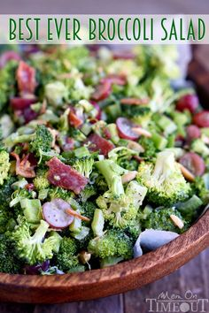 Don't believe me? Just try it! This Best Ever Broccoli Salad recipe is bursting…