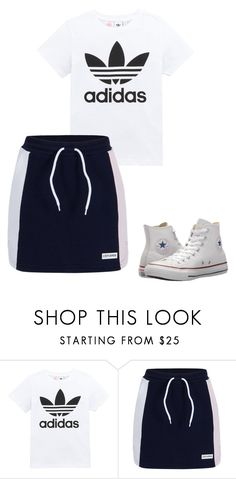 """""""Outfit"""" by elzikaa on Polyvore featuring adidas Originals and Converse"""