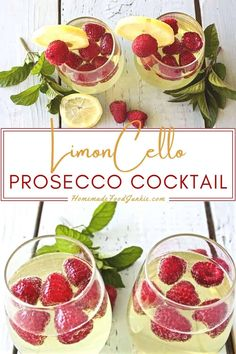 Limoncello Prosecco Cocktail is a beautiful light sparkling summer cocktail. Popular as a wedding drink, girls night out, special event or dinner party refreshment. #limoncellorecipe #cocktail #summercocktail #proseccorecipe #proseccococktail Dessert Drinks, Dessert For Dinner, Yummy Drinks, Prosecco Cocktails, Summer Cocktails, Cocktail Recipes Homemade, Spritz Recipe, Summertime Drinks, Girls Night