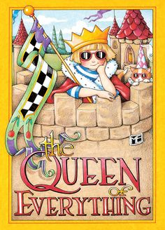 """Front reads: The Queen of Everything Inside reads: Blank Measures 5"""" x 7"""" Mary carefully selected a combination of best-selling classics and brand new images for the Paperworks collection. Each one is"""