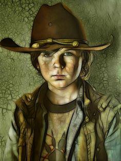 Carl - The Walking Dead - Roy Pyper