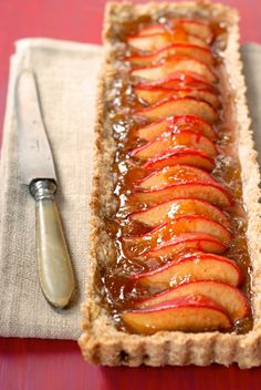 Guess what? This Fig and Plum Tart is gluten-free.