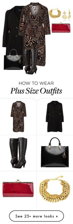 """plus size from work to play/business then datenight"" by kristie-payne on Polyvore featuring Anna Scholz, Bella-Vita, Karl Lagerfeld, Ben-Amun and Gunne Sax By Jessica McClintock"