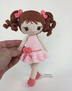Mesmerizing Crochet an Amigurumi Rabbit Ideas. Lovely Crochet an Amigurumi Rabbit Ideas. Crochet Dolls Free Patterns, Crochet Doll Pattern, Amigurumi Patterns, Amigurumi Doll, Doll Patterns, Easy Crochet Projects, Crochet Doll Clothes, Stuffed Toys Patterns, Crochet Baby