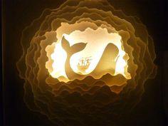 Illuminated Cut Paper Light Boxes by Hari & Deepti