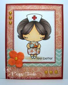 The Greeting Farm Nurse Anya