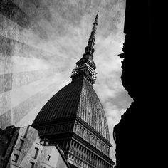 #Torino, Mole Antonelliana edited. © Davide Licordari
