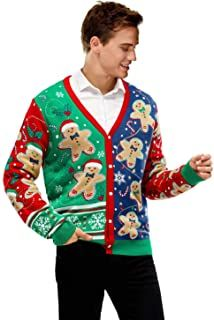 Ugly Christmas Sweater - Ideas that Win all the Ugly Sweater Contests Ugly Christmas Sweater Cute, Christmas Cardigan, Long Sleeve Sweater, Sweater Cardigan, Ugly Sweater Contest, Xmas Jumpers, Reindeer, Snowman, Pullover