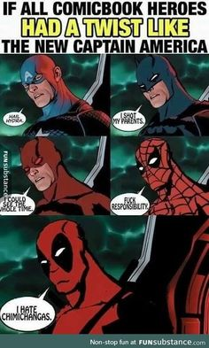 The stupidest twist in comic history.
