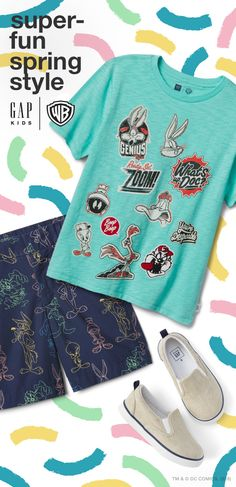 Get comfy in GapKids graphic tees, shorts, and more with Tweety and all your favorite Looney Tunes characters. Shop the Gap x WB looks for kids and toddler now at gap.com