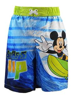 Janie and Jack Baby Boys Swim Shorts Infant Teal Fish 3-6 Months