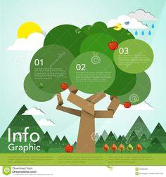 Image result for flat tree design