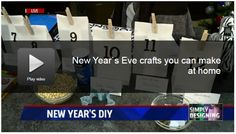 New Years Craft Ideas by Simply Designing